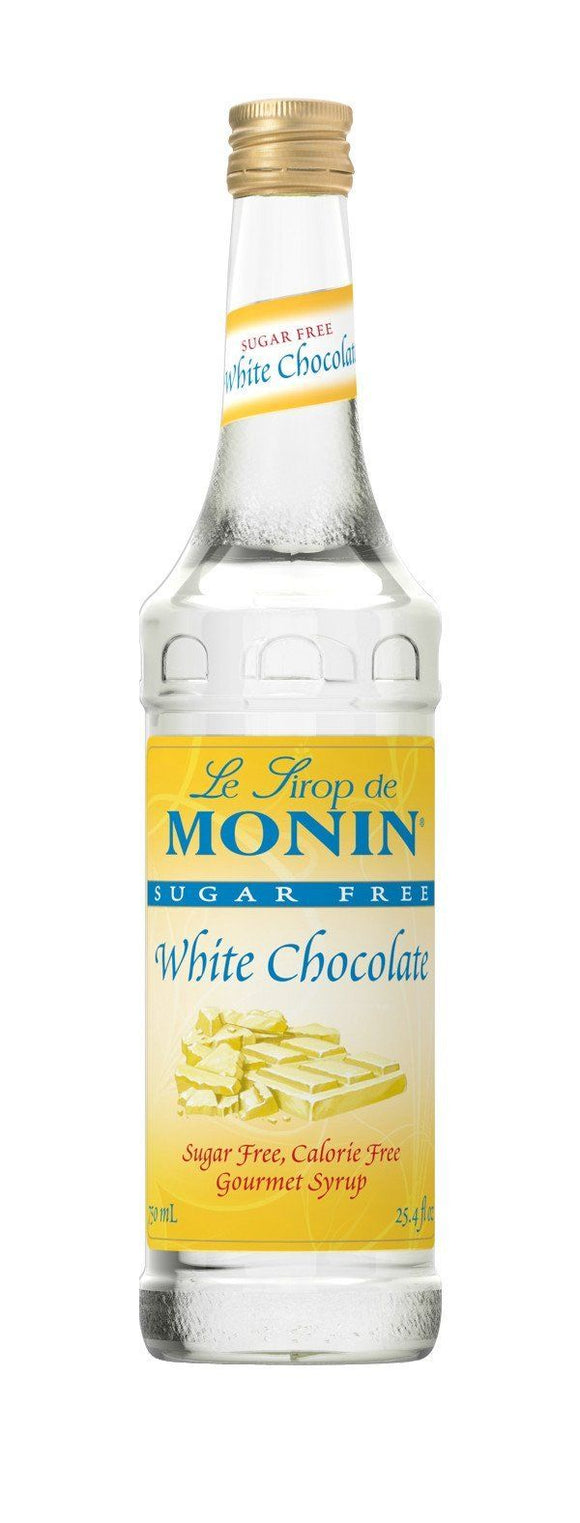 MONIN SYRUP - SUGAR FREE WHITE CHOCOLATE