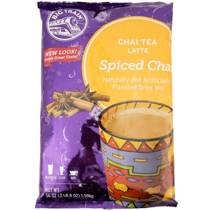 Big Train 3.5 lb. Spiced Chai Tea Latte Mix - (Case of 4)