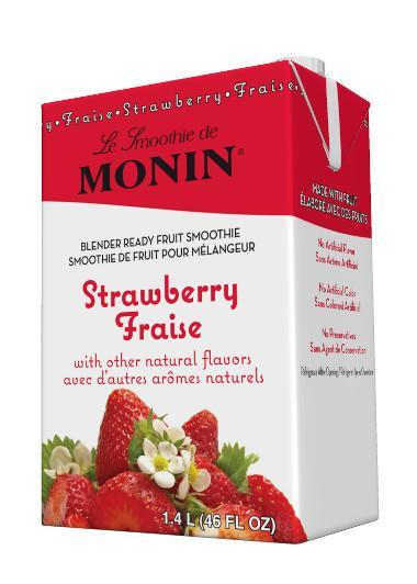 MONIN SMOOTHIE - STRAWBERRY (Case of 6)