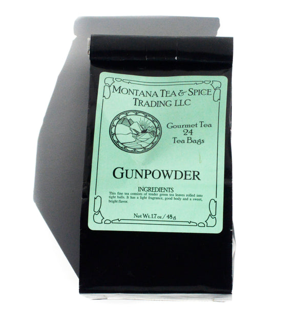 Gunpowder Green - 50pk - Montana Tea & Spice