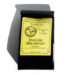 English Breakfast - 50pk - Montana Tea & Spice