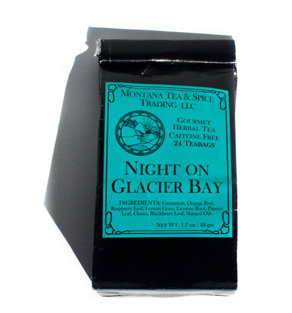 Night On Glacier Bay - 50pk - Montana Tea & Spice