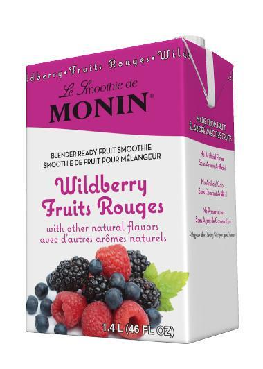 MONIN SMOOTHIE - WILDBERRY (Case of 6)