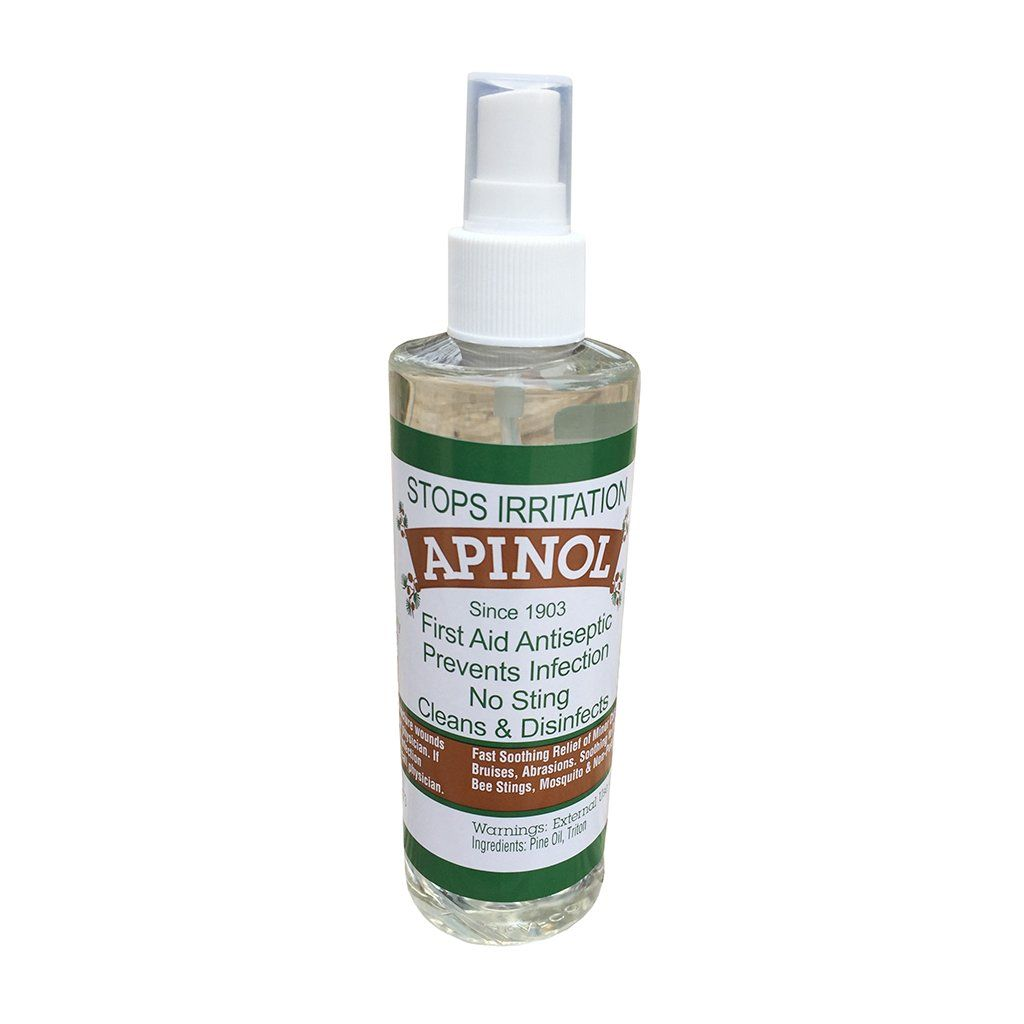 Apinol First Aid Antiseptic Pine Oil - 8 Ounces