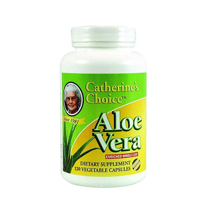Catherine's Choice Whole Leaf Aloe Vera 300 mg - 120 Capsules Health & Beauty SLD Products