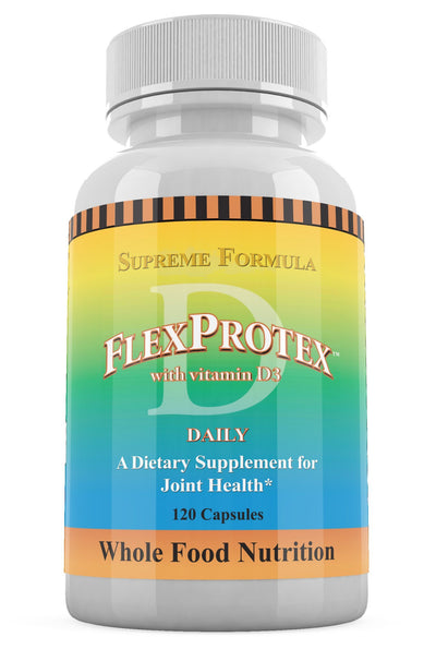 Daily Health FlexProtex with Vitamin D3 Supreme Formula - 120 Capsules