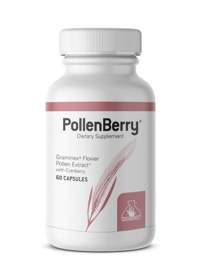 Graminex PollenBerry Flower Pollen Extract with Cranberry - 60 Capsules Health & Beauty Graminex