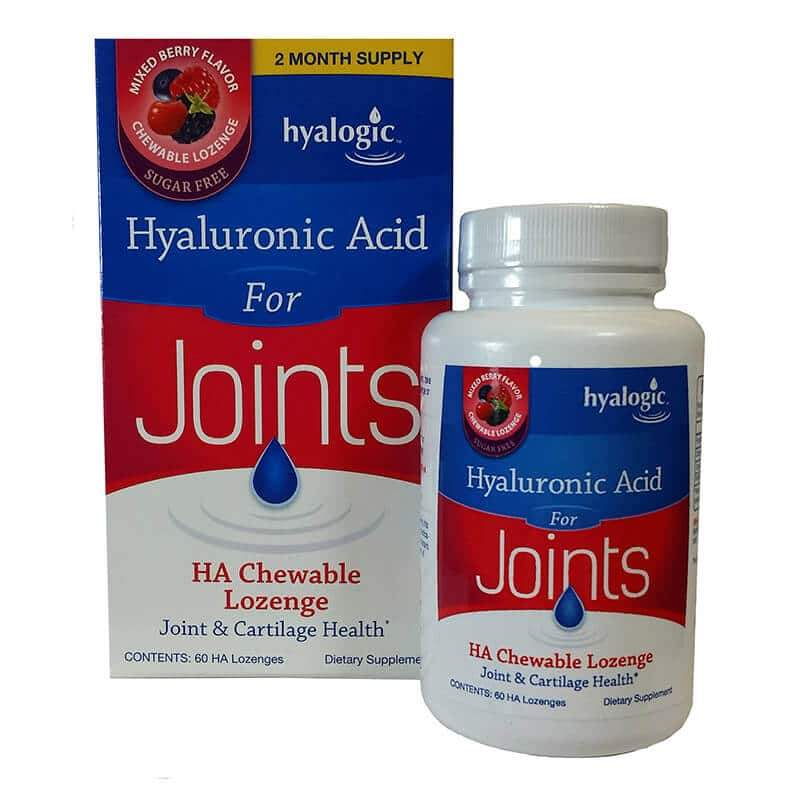 Hyalogic Hyaluronic Acid for Joints - 60 Lozenges