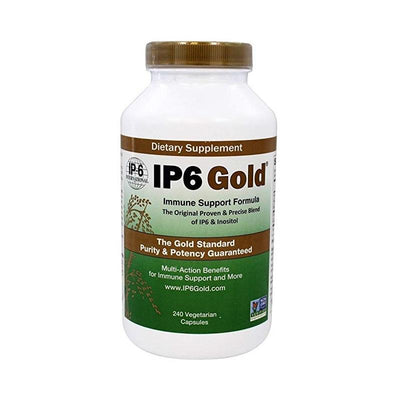 IP-6 International IP6 Gold Immune Support Formula - 240 Vegetarian Capsules Health & Beauty IP-6 International