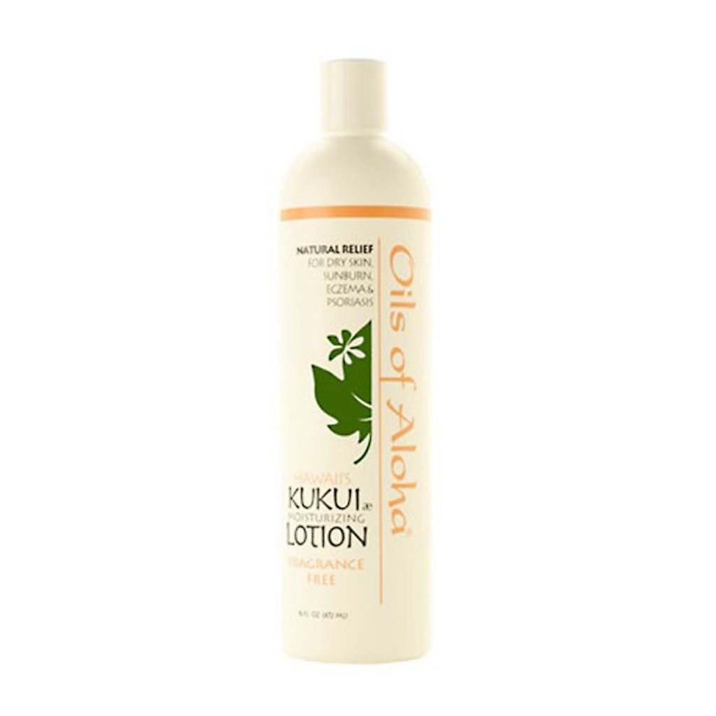 Oils of Aloha Kukui Moisturizing Lotion (Unscented) - 16 Ounces