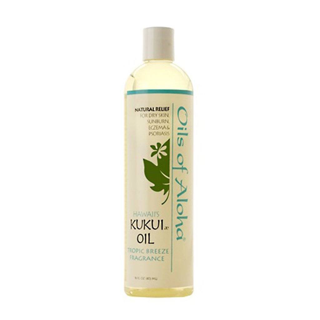 Oils of Aloha Kukui Nut Oil (Tropic Breeze) - 16 Ounces