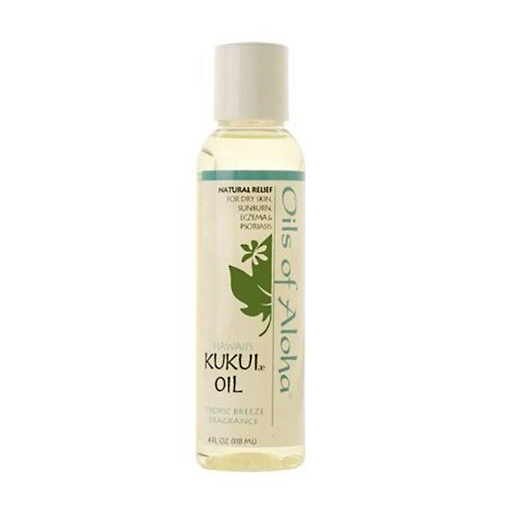 Oils of Aloha Kukui Nut Oil (Tropic Breeze) - 4 Ounces