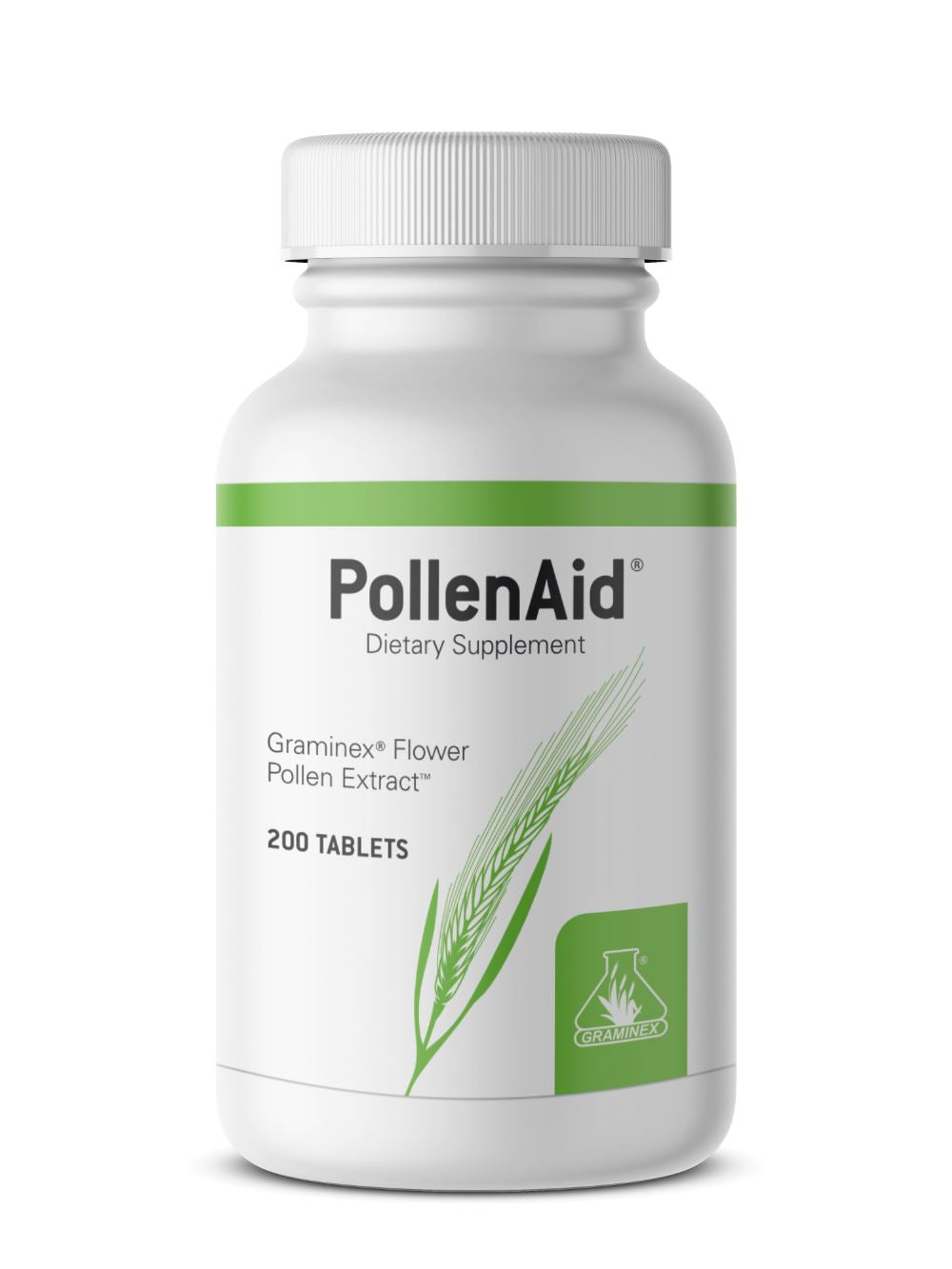 PollenAid Prostate Health Support | Helps Relieve Pain and Control Urinary Flow - 200 Tablets