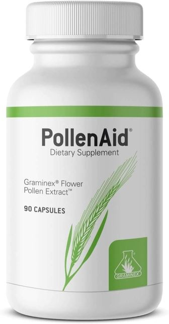 PollenAid Prostate Health Support | Helps Relieve Pain and Control Urinary Flow - 90 Capsules Health & Beauty Graminex