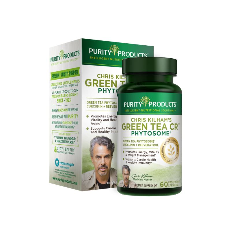 Purity Products Chris Kilham's Green Tea CR Phytosome - 60 Vegetarian Capsules