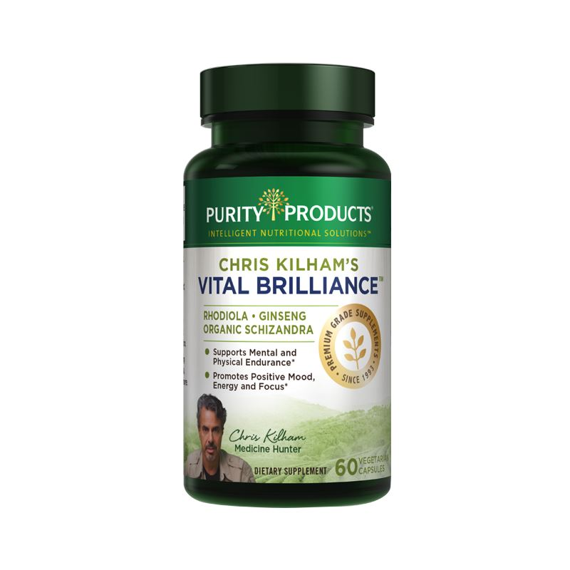 Purity Products Chris Kilham's Vital Brilliance - 60 Vegetarian Capsules
