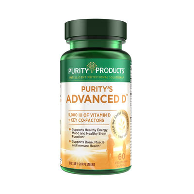 Purity Products Dr. Cannell's Advanced D - 60 Vegetarian Capsules Health & Beauty Purity Products