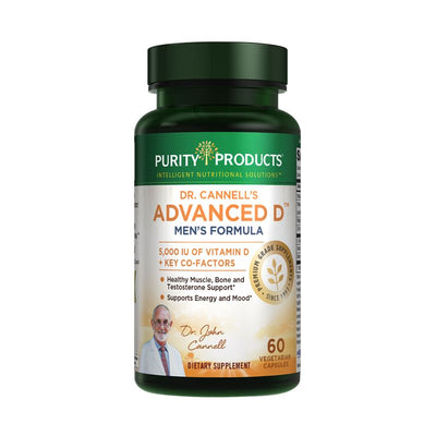Purity Products Dr. Cannell's Advanced D Men's Formula - 60 Vegetarian Capsules Health & Beauty Purity Products