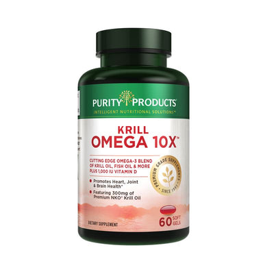 Purity Products Krill Omega 10X Super Formula - 60 Soft Gels Health & Beauty Purity Products