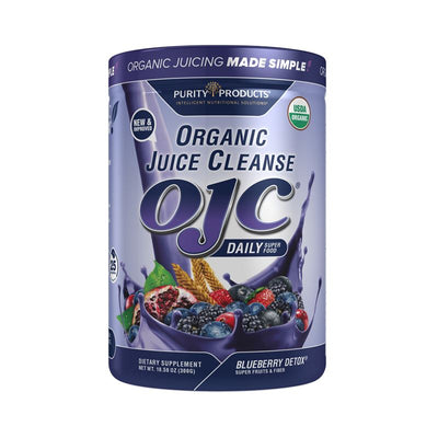 Purity Products OJC Organic Juice Cleanse Blueberry Detox - 300 Grams Health & Beauty Purity Products