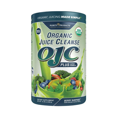 Purity Products OJC Plus Organic Juice Cleanse Super Formula Berry Surprise - 348 Grams