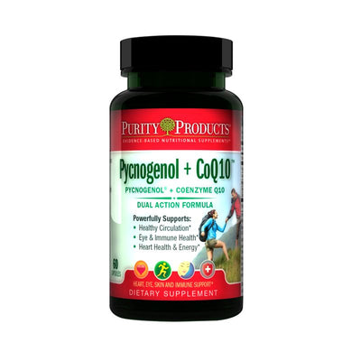 Purity Products Pycnogenol + CoQ10 Super Formula - 60 Capsules Health & Beauty Purity Products