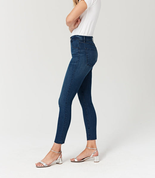 Exclusive Amaris Cropped Denim Jeans
