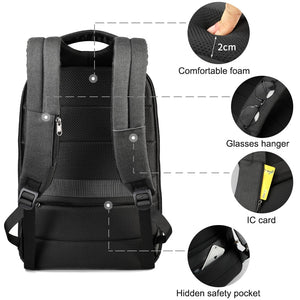 anti theft backpack compartments