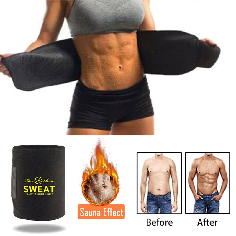 Sweat Belt Waist Trimmer