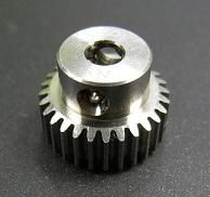 LeeSpeed Titanium Pinion MOD64 3 Holes-25 Tooth