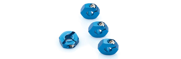 ALUMINIUM WHEEL-ADAPTER BLUE (4PCS) - S10