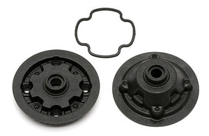 TC6   GEAR   DIFF   CASE   AND   PULLEY
