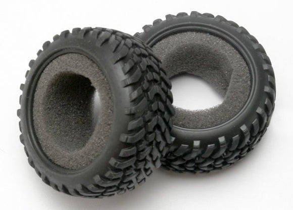Tires, off-road racing, SCT dual profile (1 each right & left)/ foam inserts (2)