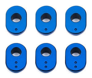 RC10F6 Caster Bushings, aluminum