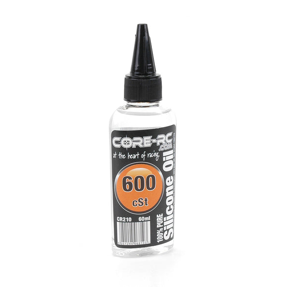 CORE RC SILICONE OIL - 600CST - 60ML