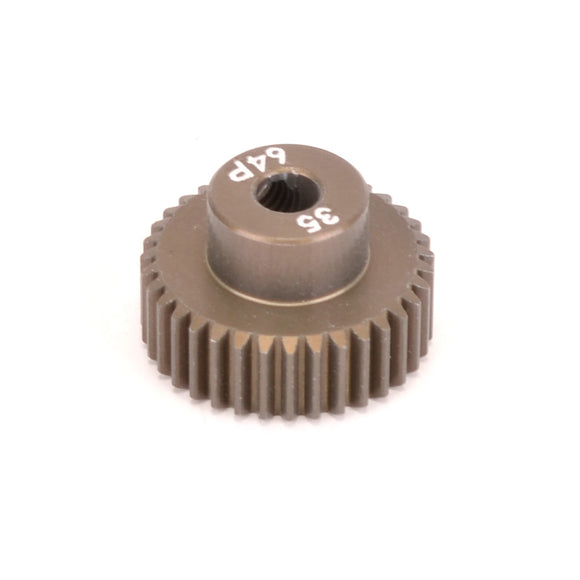 PINION GEAR 64DP 35T (7075 HARD)