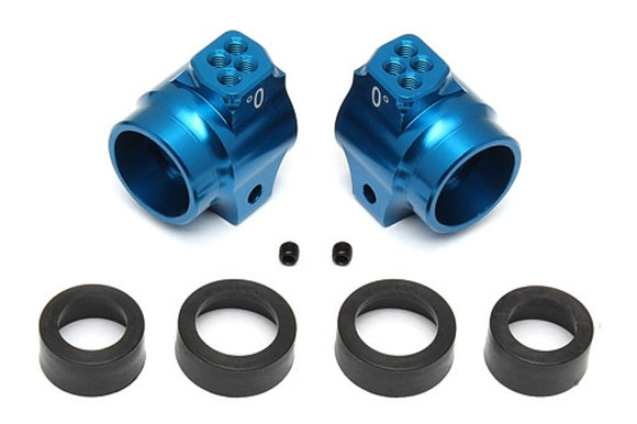 ALUMINUM REAR HUBS, BLUE