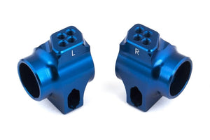 B6 FT BLUE ALUMINUM REAR HUBS