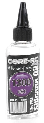 CR215 - CORE R/C Silicone Oil - 1300 cSt - 60ml