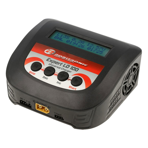 Caricabatterie Robitronic Expert LD 100 LiPo 2-4s 10A 100W