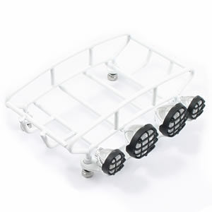 Small Rounded Luggage Tray with 4 Light Set
