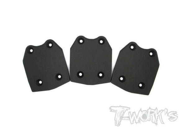 Rear Chassis Skid Protector ( Team Losi 8ight 2.0&3.0 ) 3pcs.