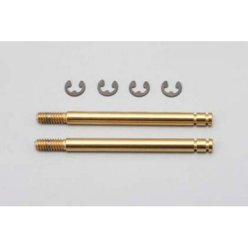 YOKOMO YS-5S-2T 40.7mm Titanium Coated Shock Shaft (L Size/2pcs)