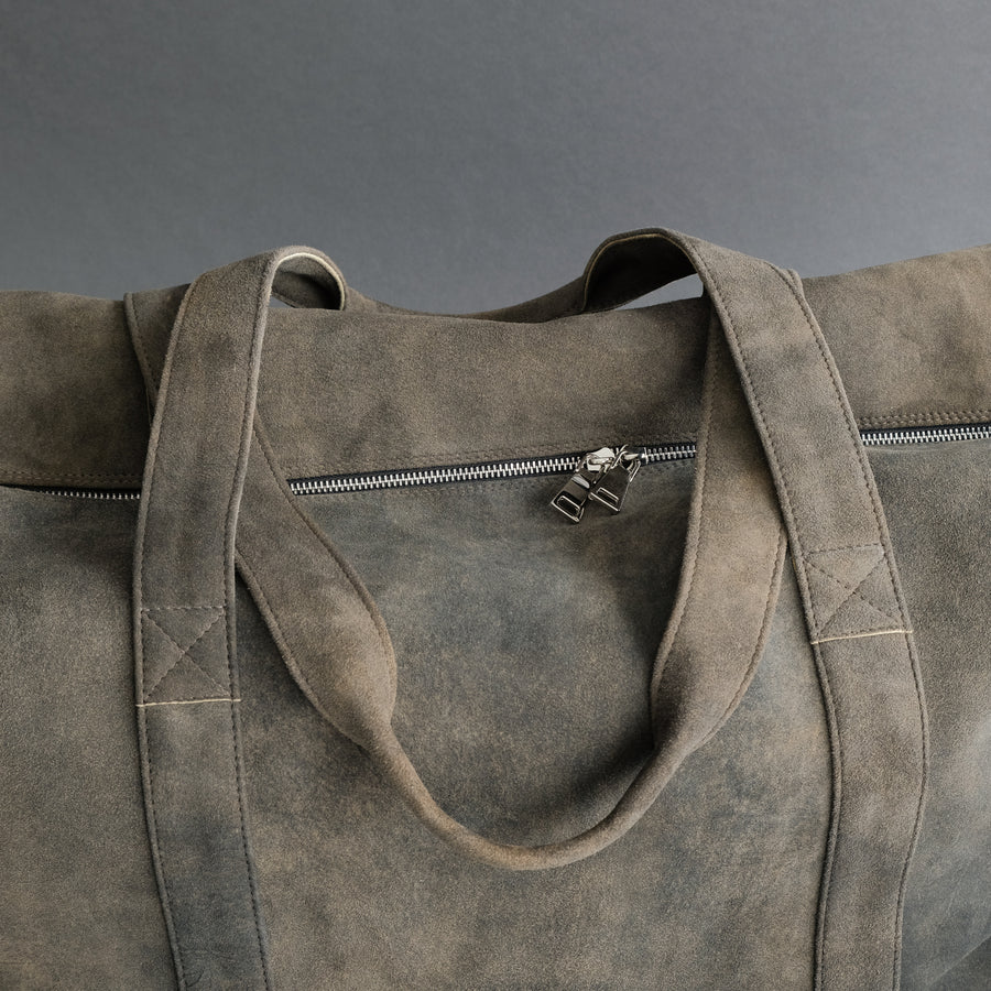 Weekender Tina XL From Walnut Goatskin Suede