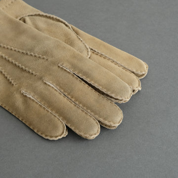 Gentlemen's Gloves from Goatskin Lined with Cashmere