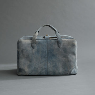 Weekender From Jeans Blue Goatskin Suede