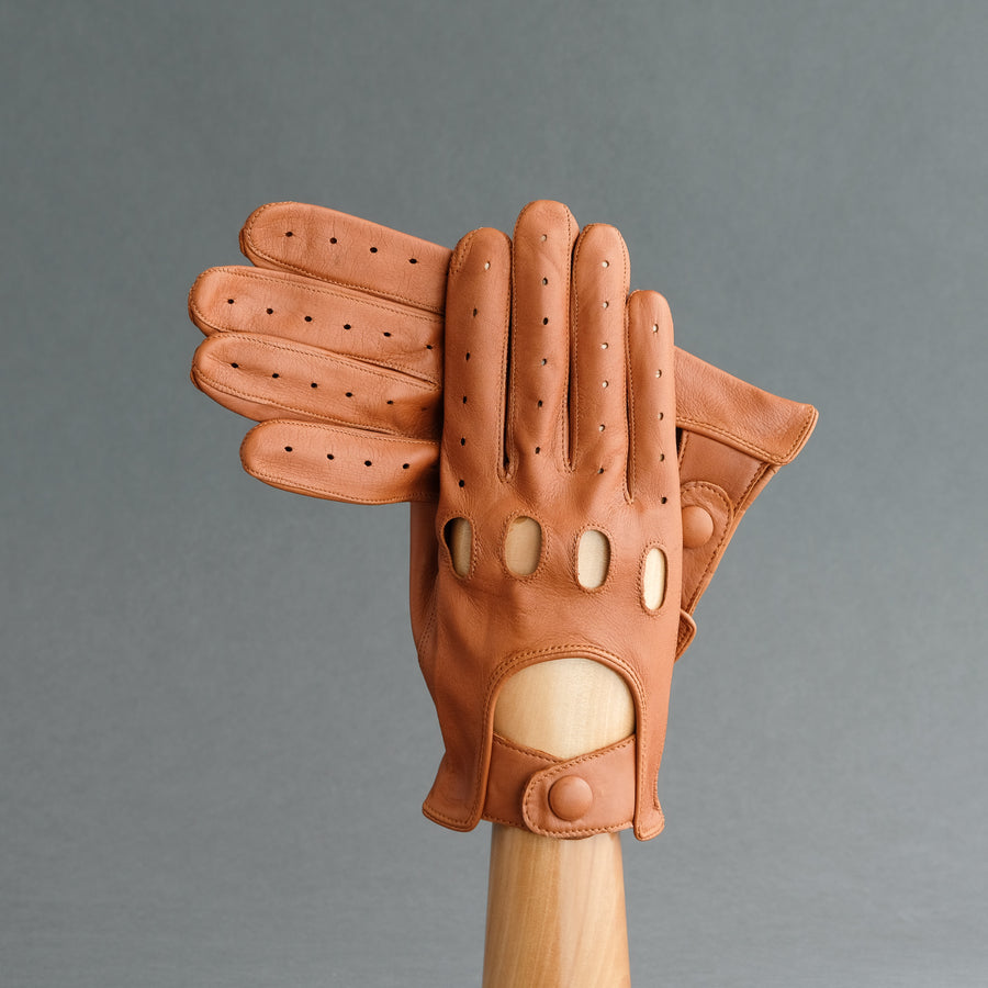 Gentlemen's Driving Gloves from Fauve Deerskin