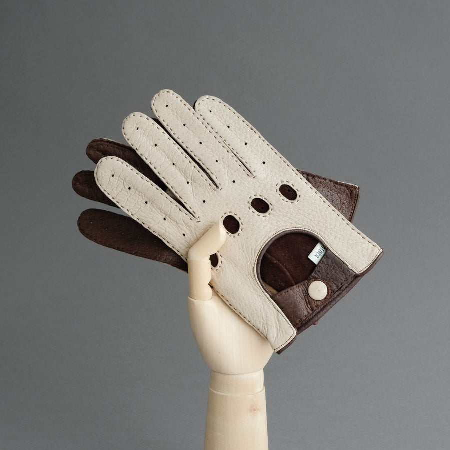 Gentlemen's Driving Gloves from Unlined Peccary