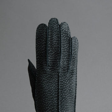 Ladies Dress Gloves from Grey Carpincho Leather