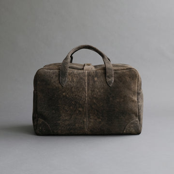 Weekender From Walnut Doeskin Suede